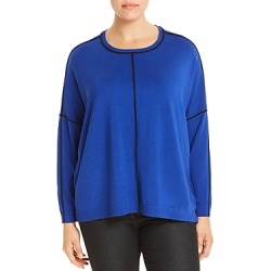 525 America Plus Contrast Trim Sweater found on MODAPINS from Bloomingdales UK for USD $126.32