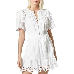 Joie Safia Ruffled Tie-Waist Dress found on MODAPINS from bloomingdales.com for USD $172.20