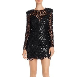 Bronx And Banco Spider Sequin Mini Dress
