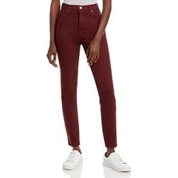 Grlfrnd Karolina Skinny Jeans in Damson found on MODAPINS from Bloomingdales UK for USD $241.12