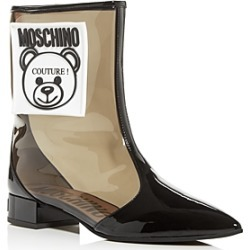 Moschino Women's Teddy Bear Pointed-Toe Boots found on Bargain Bro Philippines from bloomingdales.com for $210.00
