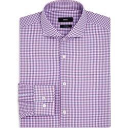 Boss Shadow Check Regular Fit Dress Shirt found on Bargain Bro UK from Bloomingdales UK