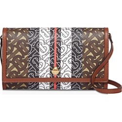 Burberry Monogram Stripe E-Canvas Wallet with Strap found on Bargain Bro Philippines from bloomingdales.com for $770.00