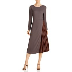 Fabiana Filippi Cady Pleated Midi Dress found on MODAPINS from Bloomingdales Canada for USD $1454.79