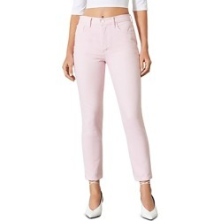 Grlfrnd Karolina Cotton Skinny Jeans in Pink Lemonade found on MODAPINS from Bloomingdales Canada for USD $104.39