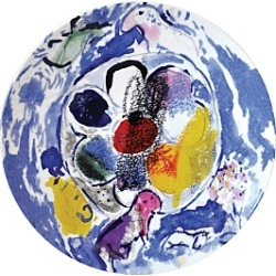 Bernardaud Marc Chagall Coupe Plate, Set of 6 found on Bargain Bro Philippines from bloomingdales.com for $644.00
