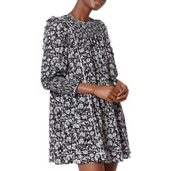 Joie Is Floral Silk Trapeze Dress found on MODAPINS from bloomingdales.com for USD $398.00