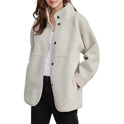 Velvet by Graham & Spencer Albany Reversible Faux Shearling Jacket found on Bargain Bro from Bloomingdales Canada for USD $213.55
