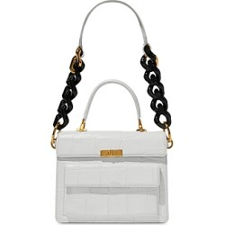 Marc Jacobs The Uptown Croc-Embossed Leather Satchel