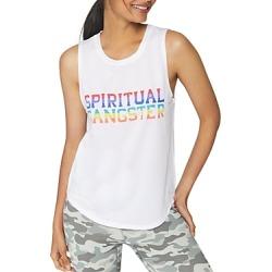 Spiritual Gangster Rainbow-Logo Muscle Tank