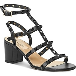 Valentino Garavani Women's Strappy Mid-Heel Sandals found on Bargain Bro India from bloomingdales.com for $1145.00