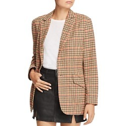 Current/Elliott The Date Night Plaid Blazer found on Bargain Bro India from bloomingdales.com for $229.60