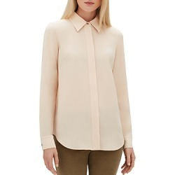Lafayette 148 New York Olga Tonal-Topstitch Blouse found on Bargain Bro Philippines from Bloomingdales Canada for $471.97