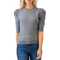 Belldini Embellished Puff Sleeve Sweater found on MODAPINS from Bloomingdales UK for USD $78.89