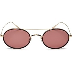 Oliver Peoples Women's Shai Brow Bar Oval Sunglasses, 48mm found on Bargain Bro India from Bloomingdales Canada for $555.92
