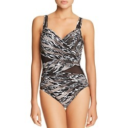 Miraclesuit Feline Fixation Madero One Piece Swimsuit found on MODAPINS from Bloomingdales UK for USD $189.47