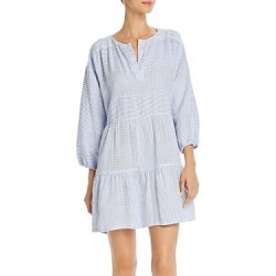 Lemlem Semira Sky Popover Mini Dress found on MODAPINS from Bloomingdales Canada for USD $217.46
