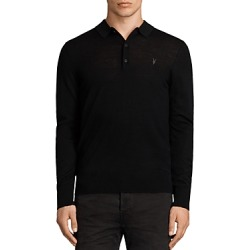 Allsaints Mode Merino Slim Fit Polo