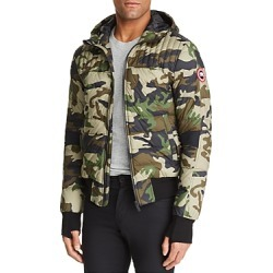 Canada Goose Cabri Camouflage-Print Hooded Down Jacket