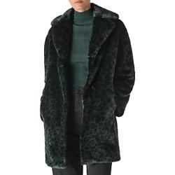 Whistles Frankie Leopard Printed Faux-Fur Coat found on Bargain Bro UK from Bloomingdales UK