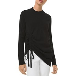 Michael Michael Kors Cashmere Crewneck Ruched Top found on Bargain Bro India from Bloomingdales Canada for $784.73