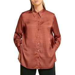 Marina Rinaldi Bicocca Printed Shirt found on Bargain Bro from Bloomingdales Canada for USD $142.10
