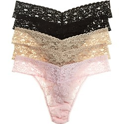 Hanky Panky Signature Original-Rise Thongs, Set of 5 found on Bargain Bro Philippines from bloomingdales.com for $110.00