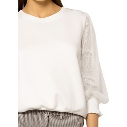 Gracia Lace Sleeve Top (43% off) - Comparable value $87 found on Bargain Bro from Bloomingdales Canada for USD $40.36