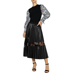 Gracia Lace Inset Faux Leather Skirt (42% off) - Comparable value $104 found on Bargain Bro Philippines from Bloomingdale's Australia for $63.97