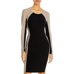 Aqua Beaded Shift Dress - 100% Exclusive found on MODAPINS from Bloomingdales UK for USD $281.91