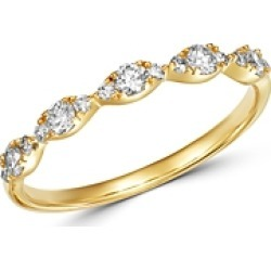 Bloomingdale's Diamond Stacking Ring in 14K Yellow Gold, 0.33 ct. t.w. - 100% Exclusive found on Bargain Bro UK from Bloomingdales UK