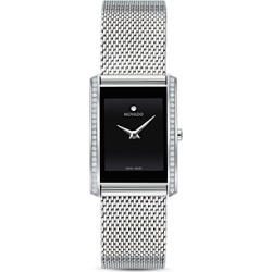 Movado La Nouvelle Diamond Silver-Tone Mesh Watch, 21mm x 29mm found on Bargain Bro Philippines from Bloomingdales Canada for $1893.50