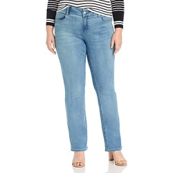 Seven7 Jeans Plus Lia Tummyless Micro-Bootcut Jeans in Gypsy