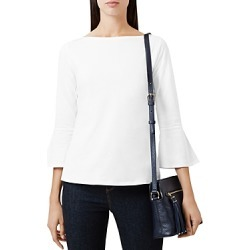 Hobbs London Mara Bell-Sleeve Top found on MODAPINS from Bloomingdales UK for USD $58.19