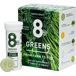 8Greens 8G Greens Dietary Supplement, Set of 6
