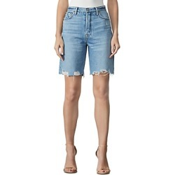 Grlfrnd Marjan Distressed Bermuda Shorts found on MODAPINS from bloomingdales.com for USD $178.00