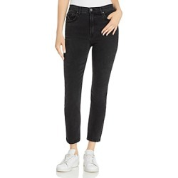 Grlfrnd Reed Skinny Jeans in Black Rain found on MODAPINS from bloomingdales.com for USD $248.00