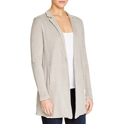 Majestic Filatures Linen Notch Collar Cardigan found on Bargain Bro Philippines from bloomingdales.com for $380.00