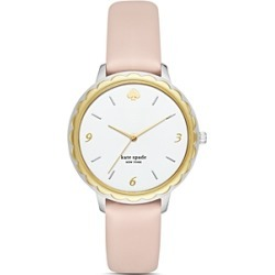 kate spade new york Morningside Pink Leather Strap Watch, 38mm found on Bargain Bro Philippines from Bloomingdales Canada for $184.61