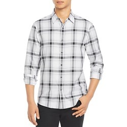 Michael Kors Check Slim Fit Button Down Shirt found on Bargain Bro UK from Bloomingdales UK