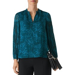 Whistles Big Cat Dobby Blouse found on Bargain Bro UK from Bloomingdales UK
