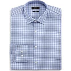 Boss Overcheck Slim Fit Dress Shirt found on Bargain Bro UK from Bloomingdales UK