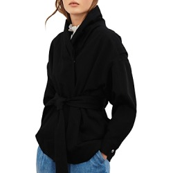 ba & sh Lost Belted Jacket found on Bargain Bro Philippines from bloomingdales.com for $435.00