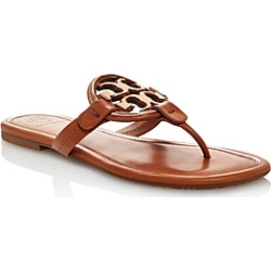 Tory Burch Women's Metal Miller Leather Thong Sandals found on Bargain Bro India from Bloomingdale's Australia for $241.91