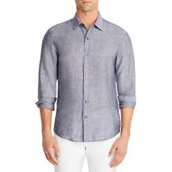 Michael Kors Slim Fit Linen Button Down Shirt found on Bargain Bro UK from Bloomingdales UK