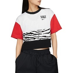 Nike Essential Color-Block Cropped Top found on Bargain Bro India from bloomingdales.com for $35.00
