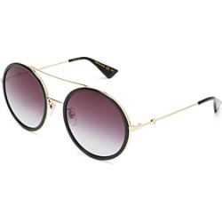 Gucci Women's Brow Bar Round Sunglasses, 56mm found on Bargain Bro India from Bloomingdale's Australia for $445.14