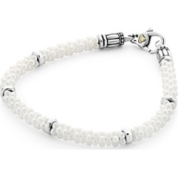Lagos Sterling Silver White Caviar Bracelet found on Bargain Bro India from Bloomingdales Canada for $367.11