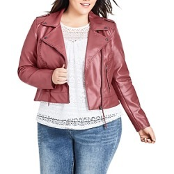 City Chic Plus Whipstitched Faux-Leather Moto Jacket found on Bargain Bro UK from Bloomingdales UK for $135.91