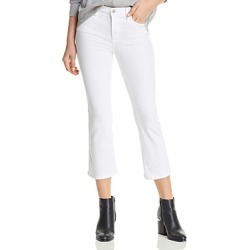 Blanknyc Kick Flare Jeans in Great White found on MODAPINS from Bloomingdales UK for USD $89.64